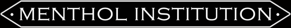 Menthol Institution Logo